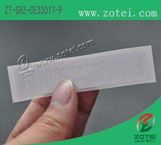 RFID Electric meter label (product type: ZT-SRZ-CE33017-P)