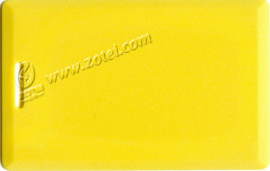 yellow clamshell card