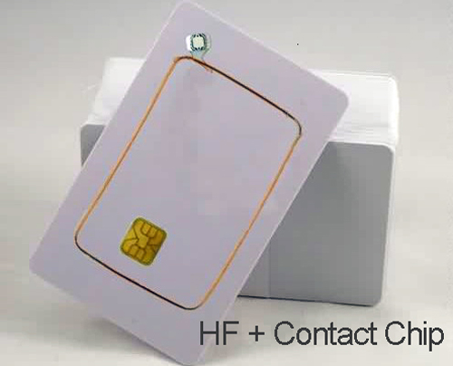 dual-frequency RFID card / composite IC card