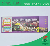 RFID single ticket