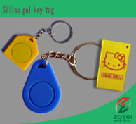 silica gel key tag