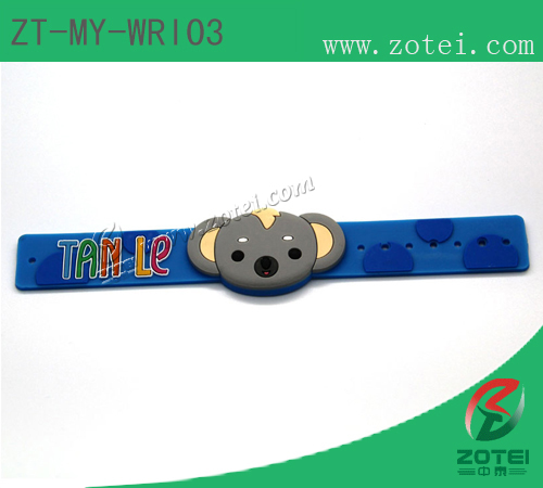 Soft PVC RFID Wrist Band:ZT-MY-WRI03
