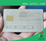 metal chip card